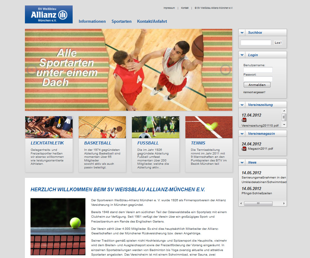 Mediaplant Referenz: Allianz WBAM 1