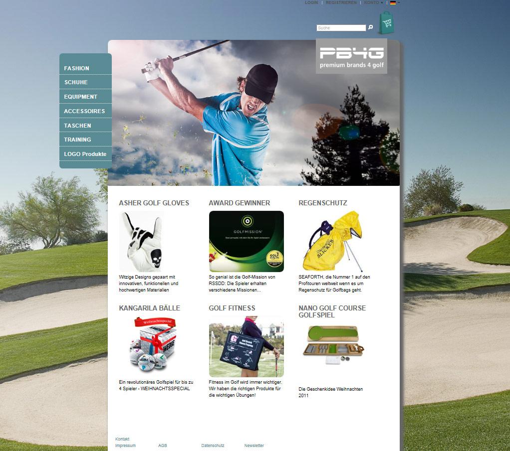 Mediaplant Referenz: Premium Brands for Golf 1
