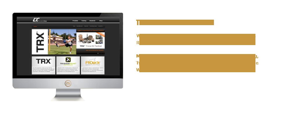 Mediaplant GmbH: Transatlantic Fitness - Webshop im CMS mit Schnittstellen für Fitnessstudios, Rehabilitationszentren, Vereine und Verbände; Mediaplant: Website- undShopentwicklung, Beratung, Typo3 und Magento, XML-Anbindung, neue Schnittstelle Warenwirtschaftssystem Mauve